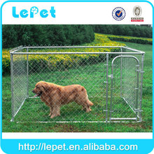 Custom logo large outdoor metal dog cage wholesale