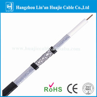 China high quality 75 ohm Cable Coaxial RG6 price list of cable for CE for CCTV