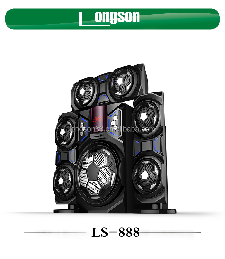 Battery Dual DJ Party Portable Rechargeable Professional Trolley Bluetooth Speakers