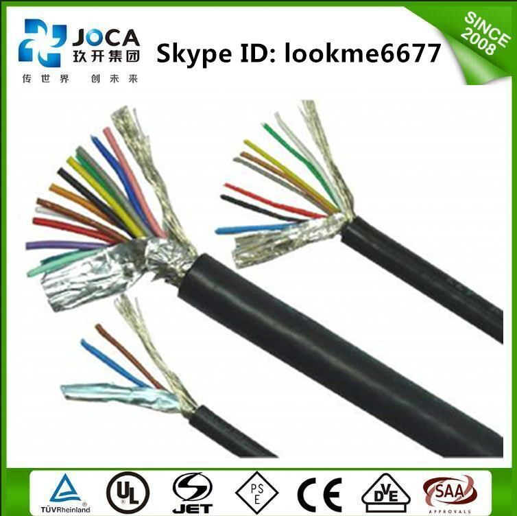 Oil resistant multicore control cable Low Voltage Multi-core EYY cable