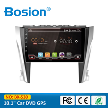Quad Core 10.1 inch Capacitive Touch Screen Radio GPS Android Car PC for Toyota Camry with Mirror Link 3G Wifi OBD