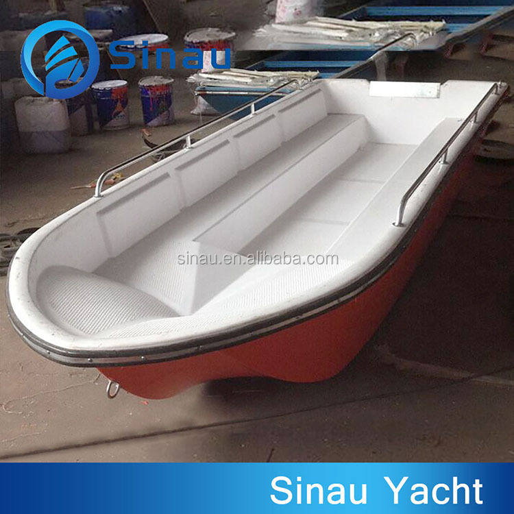 4M 13ft small fiberglass fishing boat FRP speed boat hull for sale