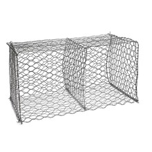 Galvanized gabion basket,gabion box factory price hexagonally woven Mattresses