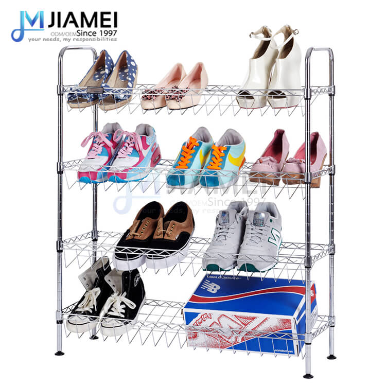 4 shelves Adjustable Shoe Rack (JBV-N103034)