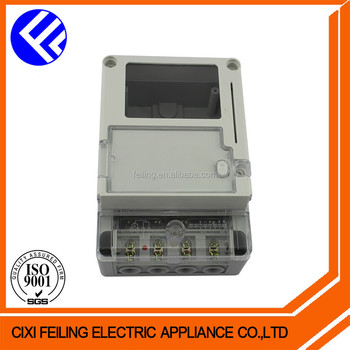 New single phase electrical abs plastic meter box