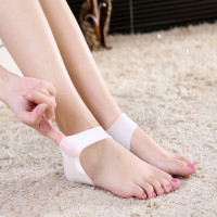 High heel shoes silicone heel protector shoe gel insole for shoes