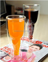 Higher popular 500ml Clear Beer Glass / Beer Cup