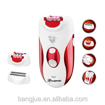 Wholesale  Rechargeable  Lady Hair Epilator Shavers Prices Gemei