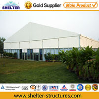 Aluminum 10x25 wedding tent equipment with decorating party tents
