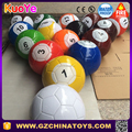 2016 wholesale inflatable balls for snooker football