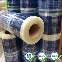 Plastic Plastic Transparent Film with Glue for Wholesale