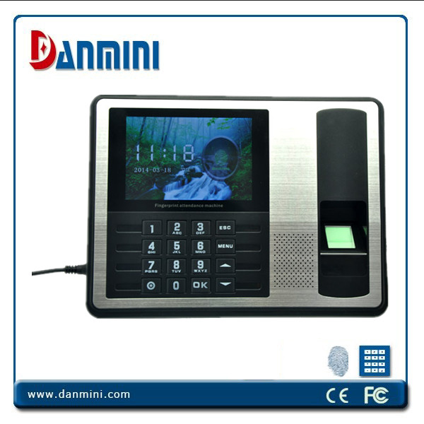 Realand 4.3inch TFT Biometric Fingerprint Time Attendance TCP/IP A7