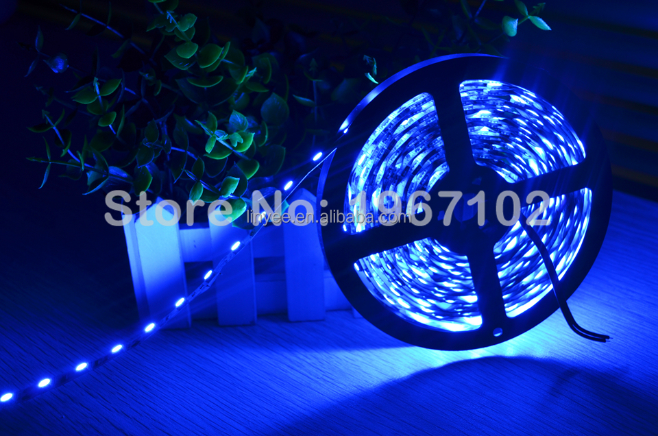 High Brightness Non-Waterproof IP20 12v 24v SMD 5050 RGB Led Strip Lights for Christmas decoration