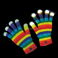 Light Up Rainbow Glove