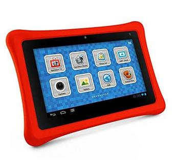 "Hot Selling 7.0"" Tablet Android Quad Core 1024*600 1G 8G Free Rubber Case Wifi Kid Tablet PC"