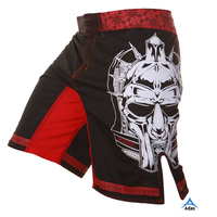 Sublimated high quality sportswear mma shorts wholesale