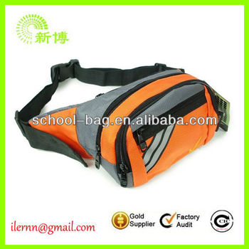 polyester travel waist packs