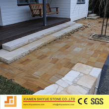 Natural yellow sandstone with good quality