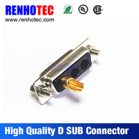 high quality d-sub adapter connectors d-sub to rca/vga/hdmi adapter