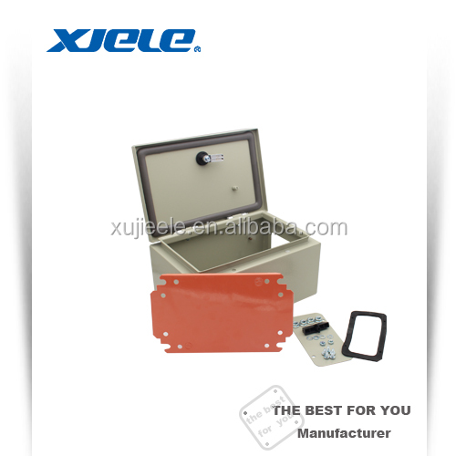 panel metal wall mounted ip65 weatherproof control enclosure box