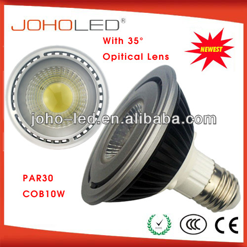 CRI>80 par38 par30 cob led par light lamp e27 10w led light bulb 220v