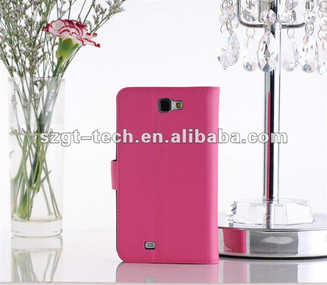 Leather Case for Samsung Galaxy Note 2 Case PU Cover for Samsung Note 2 N7100