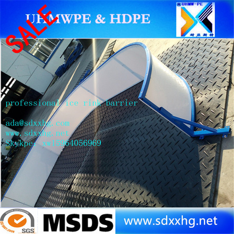 sale plastic skating rink skateboard park tycoon skateboard park hdpe synthetic ice rink dasher board
