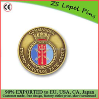 Custom quality Foreign Military Challenge Coins