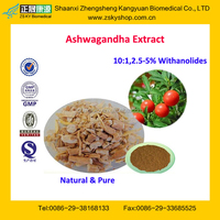 GMP Certified Manufacturer Supply High Quality Ashwagandha Extract Powder