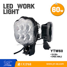 Two type best price led work lamp magnetic base or universal off road led work light 24w 27w 40w