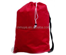 customized size easy carry polyester laundry bag