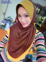 2014 latest fashion arabic head scarf ,hot islamic hijab arab head muslim hijab