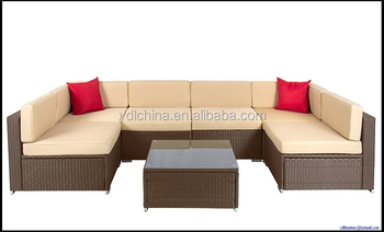 cheap modern sofa sale wicker sectional sofas YKD-07D