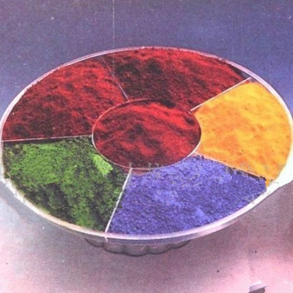 Factory sell synthetic color pigment iron oxide red/yellow/black/green/blue/orange/brown color for cement concrete