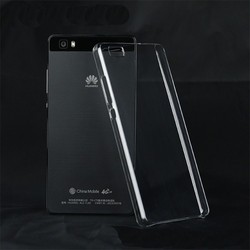 Transparent Clear Crystal PC Hard Case For Huawei Ascend P8 Lite