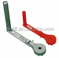 Safety Ratchet Crank Steel Jack