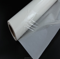 super Thin 30um-50um stick to cotton polyester fabric construction, leather,PVC panel TPU Hot Melt Adhesive glue Film