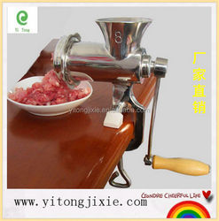 China factory manufacturer 10# hand /manual meat grinder/meat mini chopper
