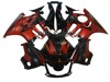 Black & Red Motorbike Bodywork Fairing for Honda CBR600 F3 1995 1996