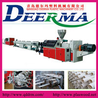 SJZ65/132 PVC Twin Pipe plastic extrusion/extruders for sale
