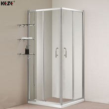 guangdong luxurious cubicle 90x90 aluminium portable toilet and shower room