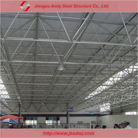 Pre engineered commercial buildings prefab metal frame roof system