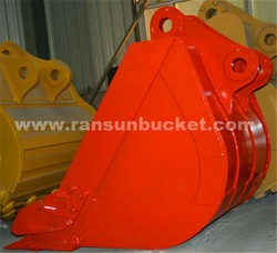Professional-quality S355 NM400 Material RSBM 1-80t Customized excavator bucket