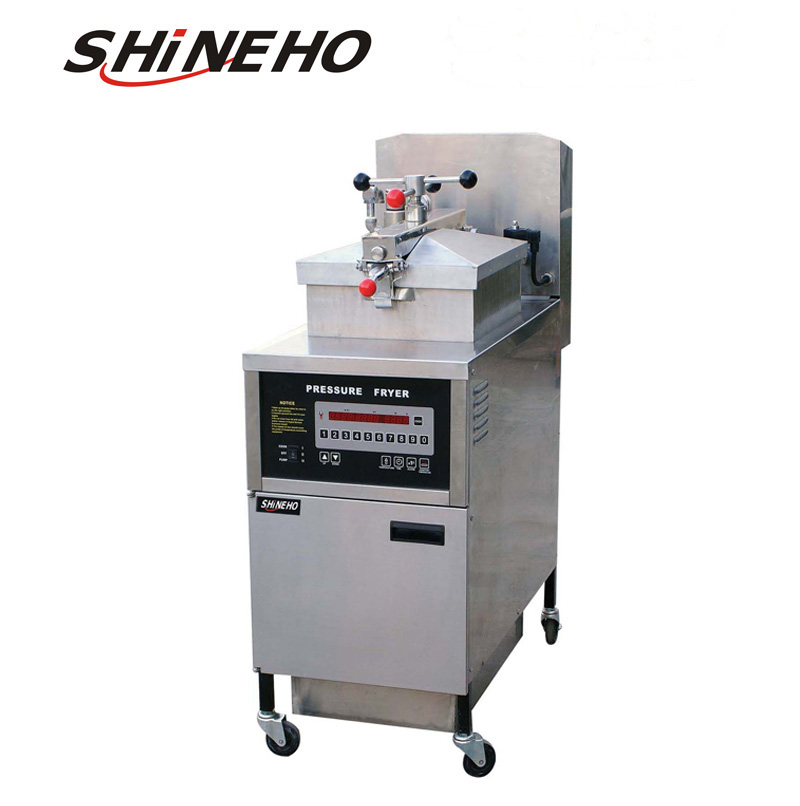 <strong>P008</strong> equipment fast food restaurant/gas pressure fryer/kfc equipment
