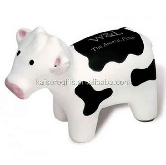 High Quality Customized cooking cow pu stress ball