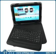 2015 Products Wholesale for Android 10.1 inch Universal Tablet Bluetooth Wireless Keyboard Case With Stand