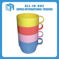 2015 high quality combination promotional plastic cup