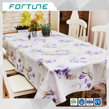 Price competitive Pattern custom Clear Plastic PVC Table Cloth