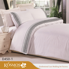4pcs polyester cotton bed linen best indian luxury wholesale bed sheets