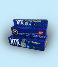 Mobile Car Charge Cardboard Counter Display Stand
